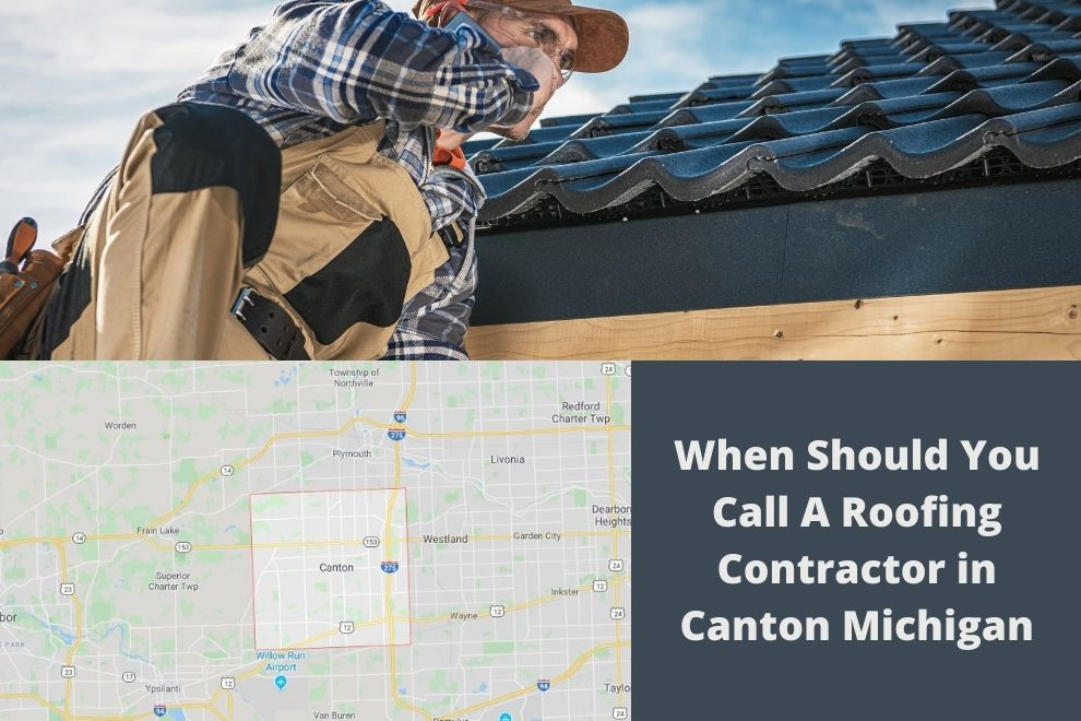 Roof Leak in Canton MI